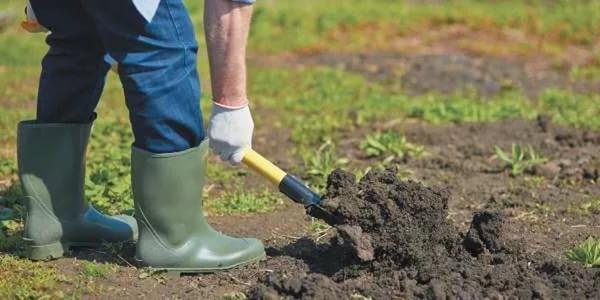 Готовим почву под грядки