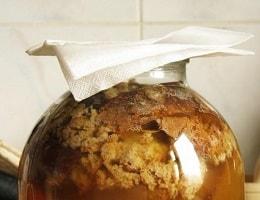 Домашний хлебный квас без дрожжей