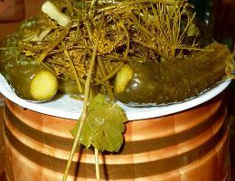 Рецепт бочковых огурцов на зиму в бочке