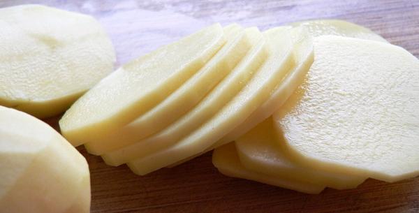 Сырой картофель для лечения грибка ногтей