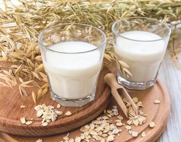 Овес и молоко