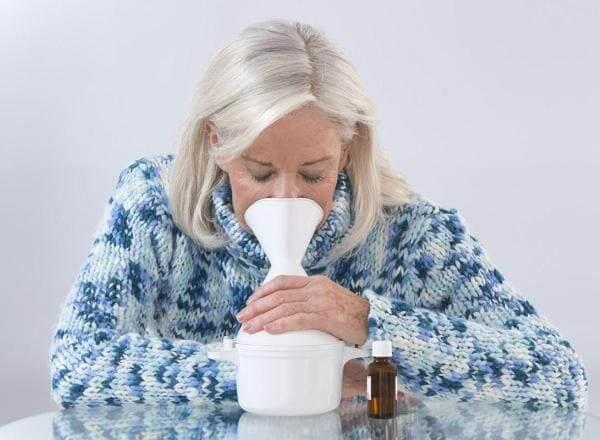 Паровые ингаляции при насморке в домашних условиях