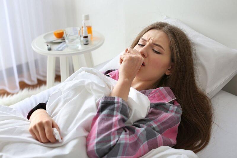 Глубокий кашель при воспалении лёгких