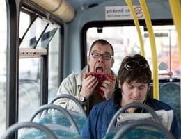 Как не заболеть в общественном транспорте?