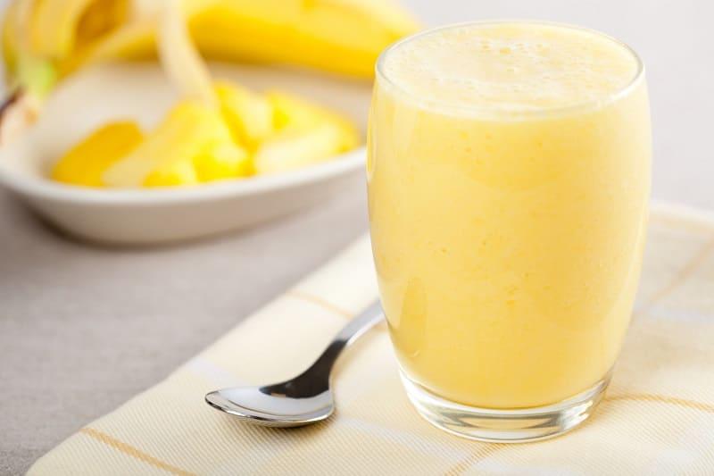 Банановый смузи при повышенном холестерине
