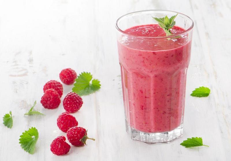 Напиток из малины для похудения