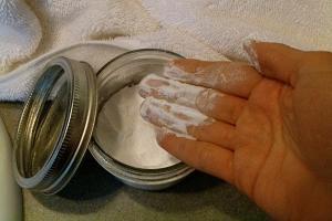 Сода вместо дезодоранта