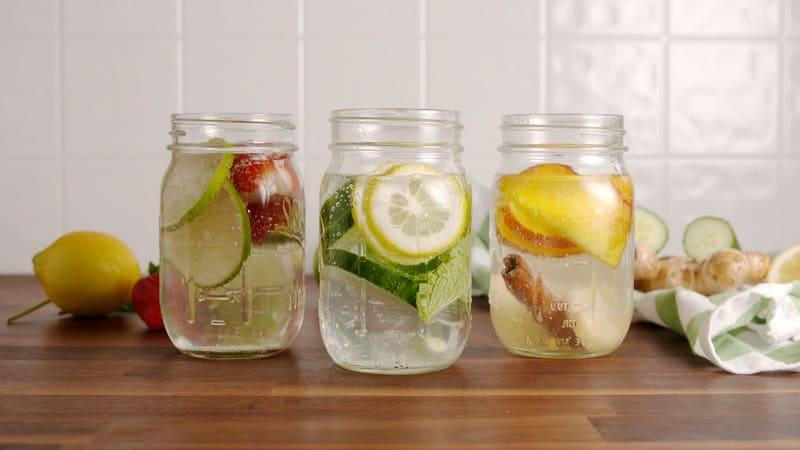 Детокс вода. Рецепты