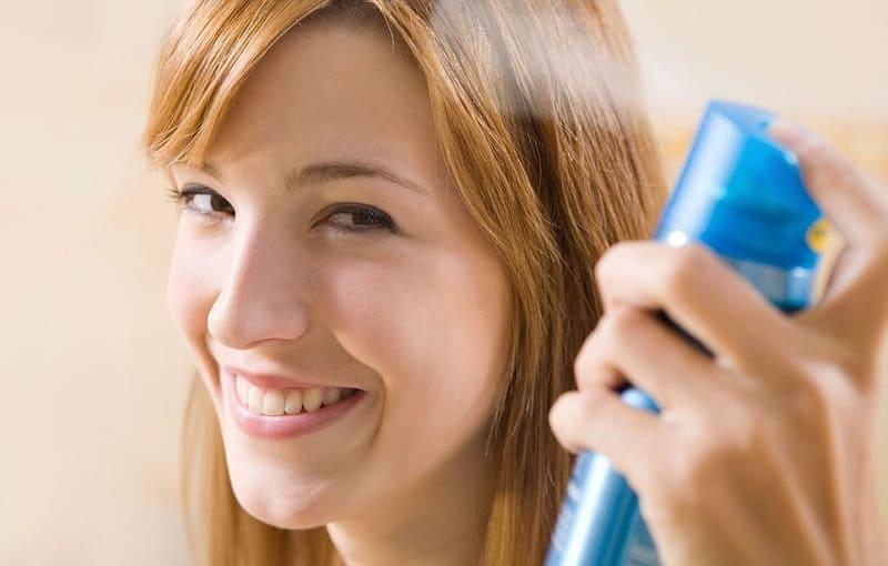 Лучший натуральный лак для волос