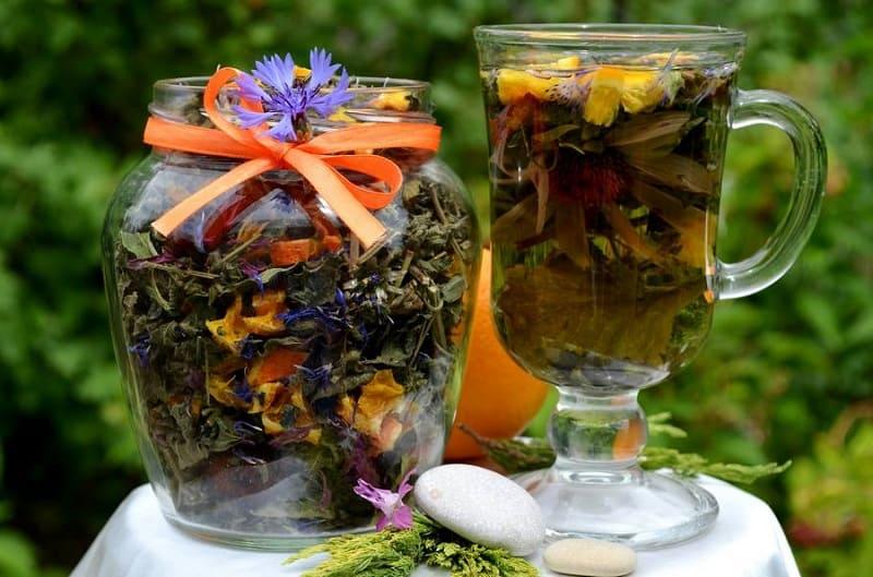 Витаминные травяные чаи