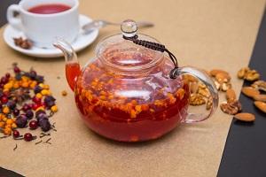 Витаминный чай из трав