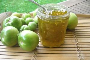 Как приготовить варенье из зеленых помидоров?