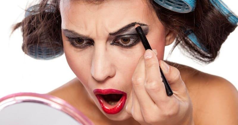 Основные ошибки в макияже бровей