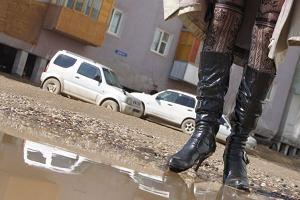 Обувь на высоком каблуке. Чем опасна осенью?
