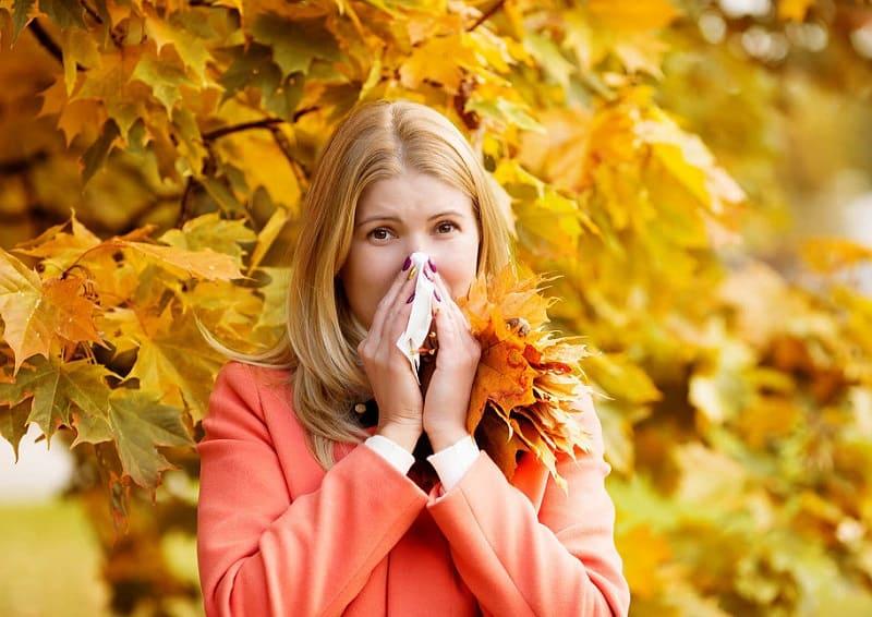 Осенняя аллергия у взрослых
