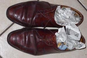 Как быстро высушить обувь?
