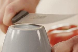 Как поточить нож без точилки?
