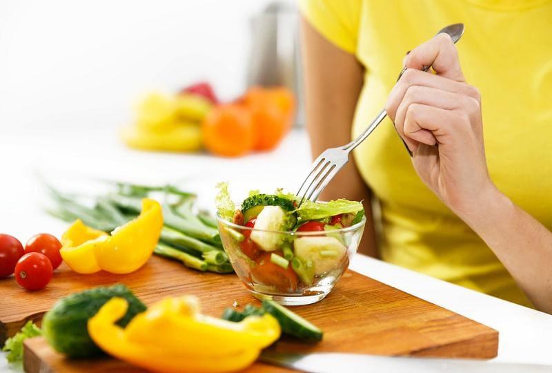 Салат из овощей для стройности