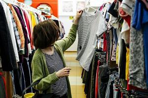 Покупка одежды в секонд-хенде