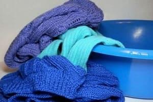 Стираем свитер