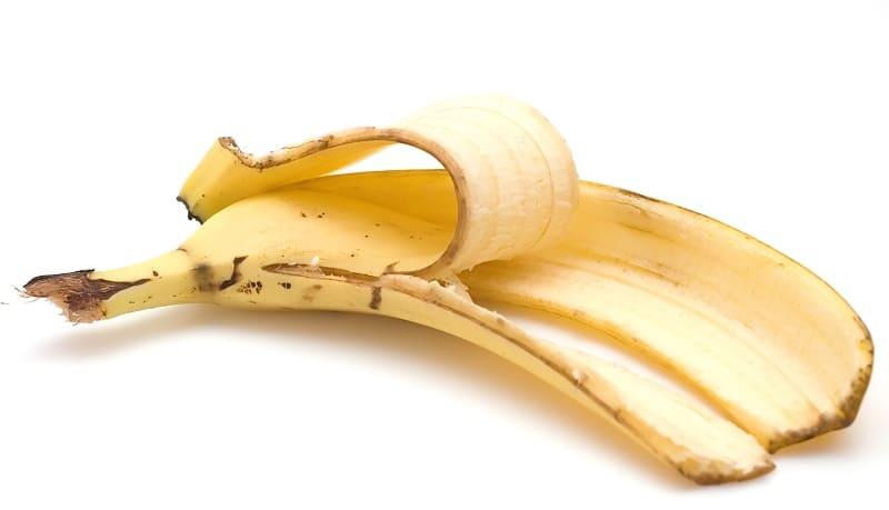 Удобрение из банановой кожуры для рассады