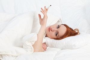 Курение натощак с утра
