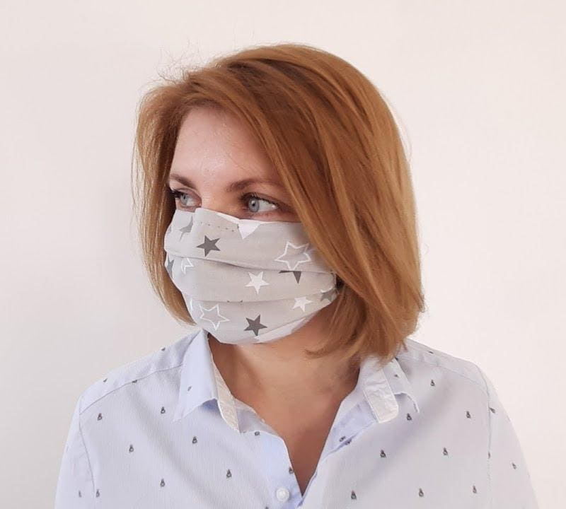 Защитная маска для лица из ткани своими руками
