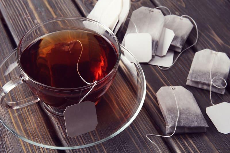 Как проверить чай в пакетиках на красители?