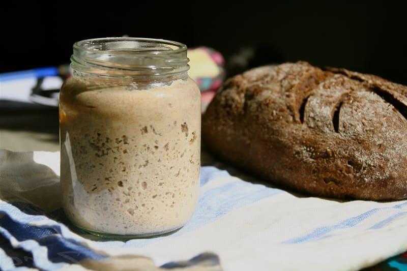 Дрожжевая закваска для хлеба
