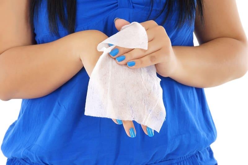 Как сделать дезинфицирующие салфетки для рук?