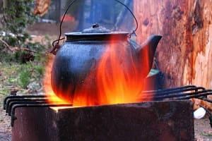 Нагреваем воду без электричества
