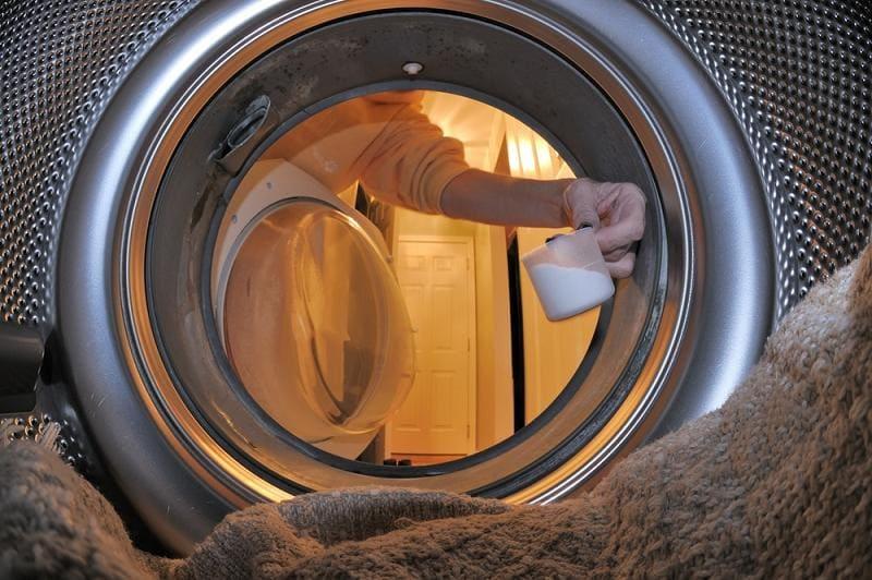Стирка пледа в стиральной машине