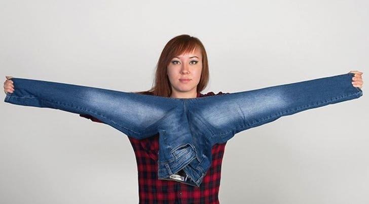 Как определить длину джинсов?