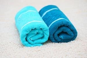 Валик из полотенца