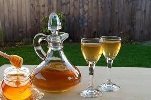 Медовуха приготовленная из мёда