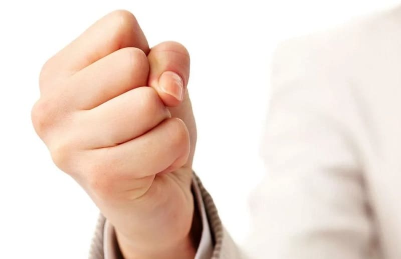Упражнение кулачок