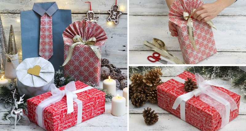 Упаковка подарков своими руками. 6 способов