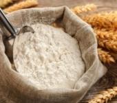 Пшеничная мука в мешке