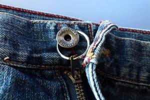 Кольцо на джинсах