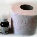 Туалетная бумага и ароматическое масло