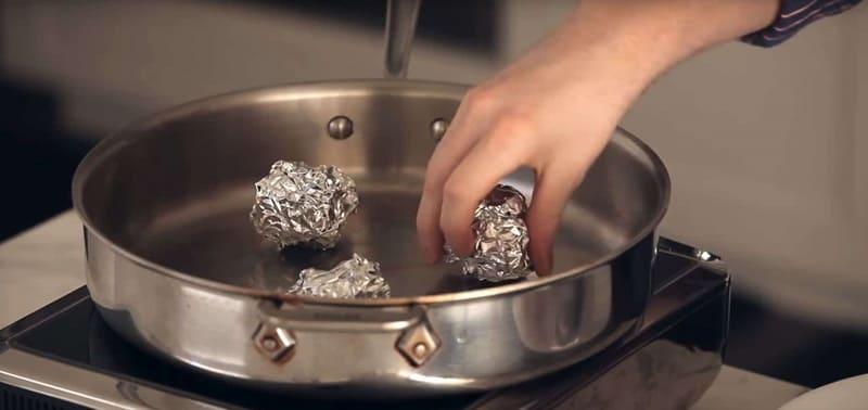 Сковорода вместо пароварки
