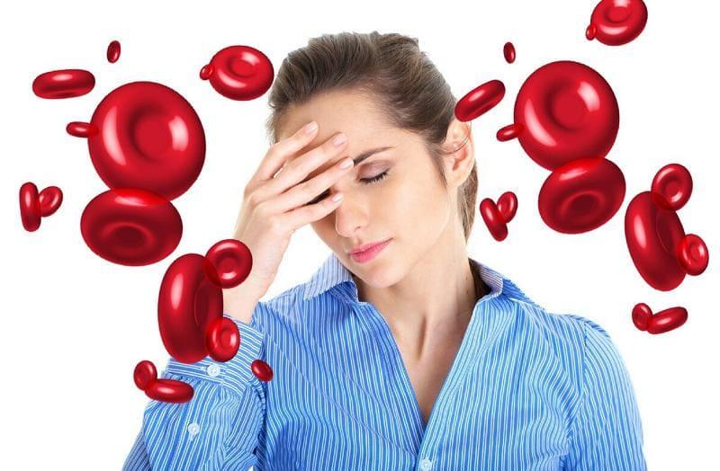Низкий гемоглобин у женщин