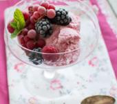 Домашнее мороженое без сахара