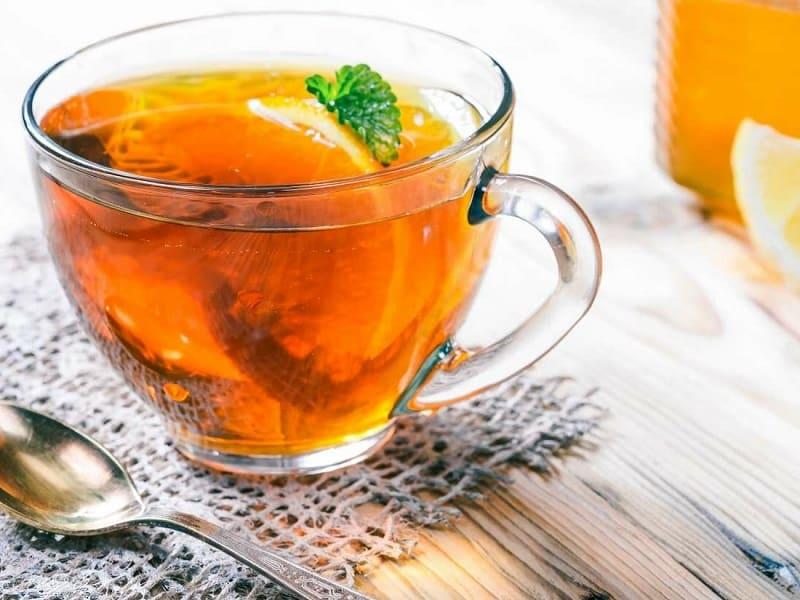 Чай из апельсиновой цедры для похудения